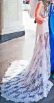 Современное и оригинальное свадебное платье 100 $