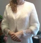 Свадебное платье и шубку 100 $