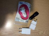 Зарядные устройства USB для мобильных телефонов.
