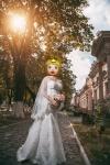 Свадебное платье 2016 года.