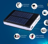 POWER BANK 20000 mAh На солнечных батареях. Скидка 53%
