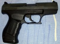 Газовый пистолет Walther P99 б/у 9мм