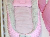 Кокон, гнездышко, позиционер для новорожденного (бэбинест / babynest) 350 руб