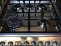 Плита газовая полная нержавейка с комбинированной духовкой 350 $