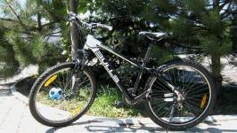 Немецкий велосипед -двухподвес Всё навес SHIMANO
