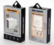 КАЧЕСТВЕННЫЕ СКОРОСТНЫЕ умные зарядки с дисплеем 3 порта ♻ USB шнуры