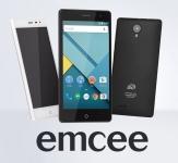Дисплей на Emcee
