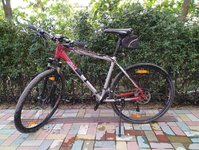 """Горный гибридный велосипед Author Grand 28"""" Full Deore XT 780 650 $"""