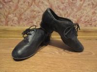 Мужские туфли для спортивно-бальных танцев в хорошем состоянии