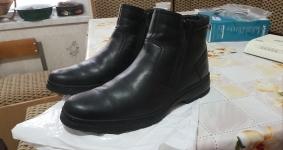 Продам зимние мужские кожаные ботинки р. 41.