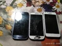 3 телефона на запчасти