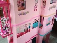 Трехэтажный домик Barbie - б/у. Размер 1,25 * 1,00 м.