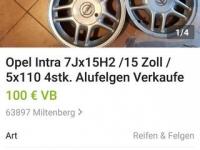 Диски Опель, оригинал р15,привезены из Германии! 150 $