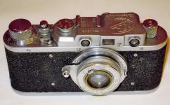 Фотоаппарат ФЭД первой модели, № 240843 1950 г. выпуска