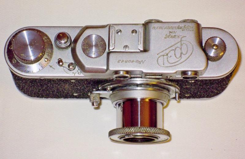 Как определить год выпуска у фотоаппарата фэд