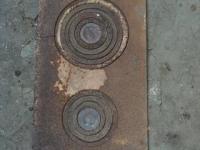 Чугунная плитка 200 руб
