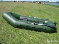 """Продам надувную лодку """"Шквал"""" 2 400 руб"""
