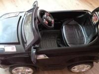 Электромобиль детский Land Rover, черный, б/у 1500 лей