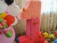 Прокат цифры на первый юбилей ребенка (Тирасполь, Бендеры, Парканы) 85 руб