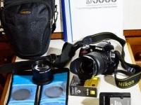Зеркальный фотоаппарат Nikon D3000 270 $
