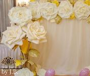 Роскошный декор цветами-гигантами. Аренда/продажа 10 €