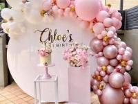 Оформление шарами на свадьбах кумэтриях днях рождениях