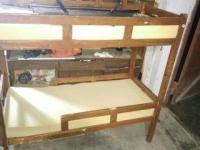 Двухъярусная кровать 500 руб
