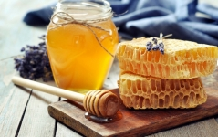 100% Натуральный мед!!! Разнотравье. 3-л бутылек - 300 руб.