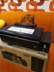 Струйный принтер EPSON L800, б/у, 1500 руб