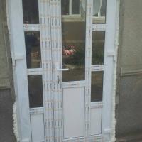 Пластика окон и дверей.