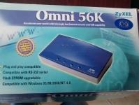 Модем ZyXEL Omni 56К V. 90 (в комплекте с переходником USB-COM RS232).Доставка до заказчика.